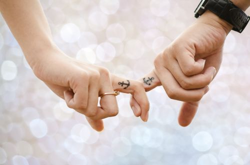 Hands Joined In Love