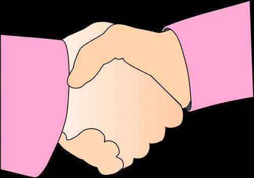 handshake agreement hands