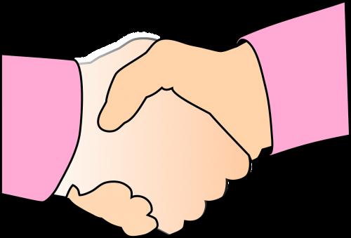 handshake shake hands