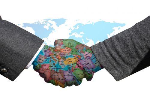 handshake understanding international understanding