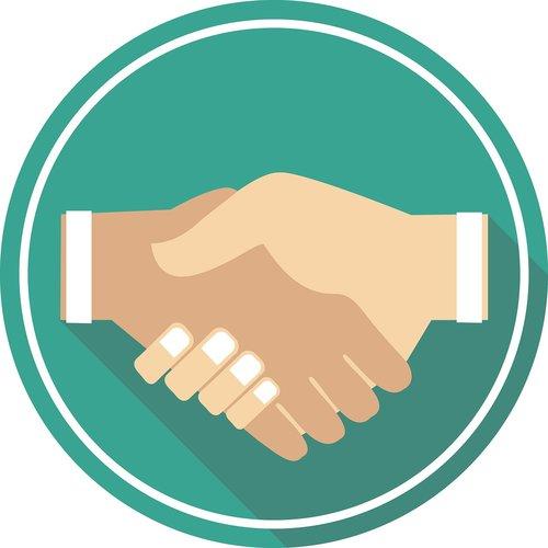 handshake  hand  icon