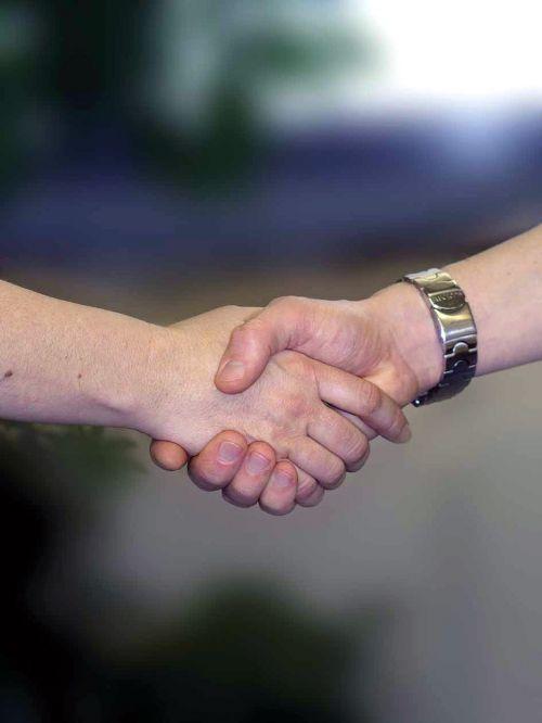 handshake hands welcome