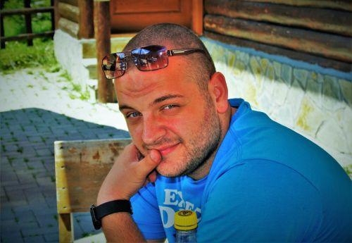 handsome person male