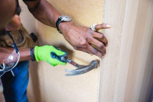 handyman  furniture assembly  hammer