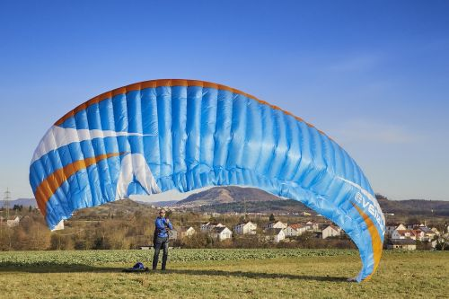 hang glider wind dragon fly