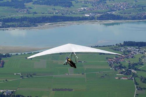 hang glider  hang gliding  air sports