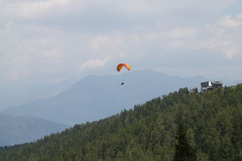 hang glider italy fly