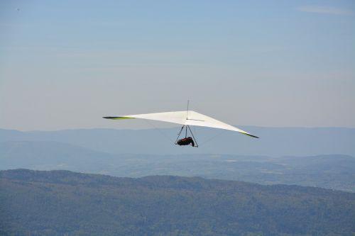 hang gliding the delta haute savoie