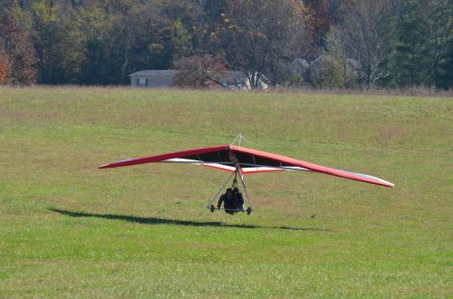 hang gliding delta-flying flying