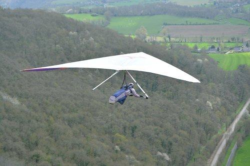 hang gliding  vélideltiste  free flight