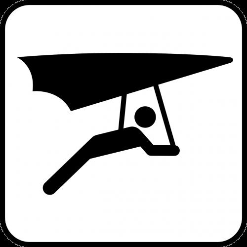 hang gliding delta-flying flying