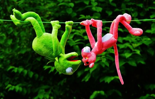 hang out plush toys kermit