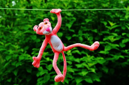 hang out soft toy the pink panther
