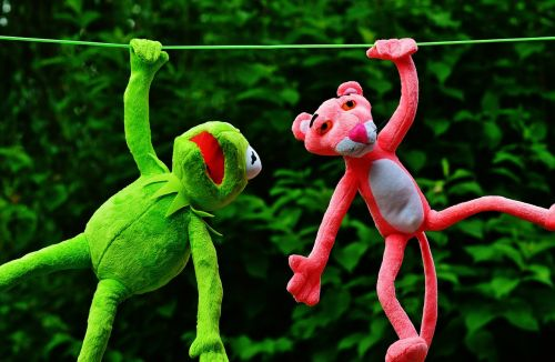 hang out plush toys kermit