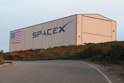 hangar spacex usa