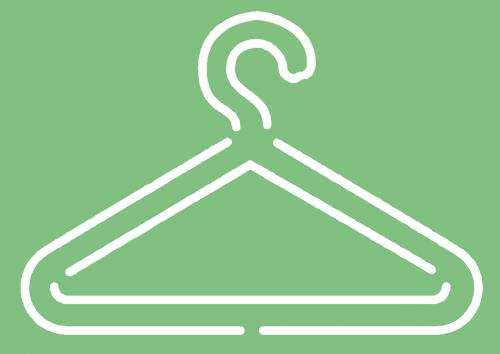 hanger clothes coat