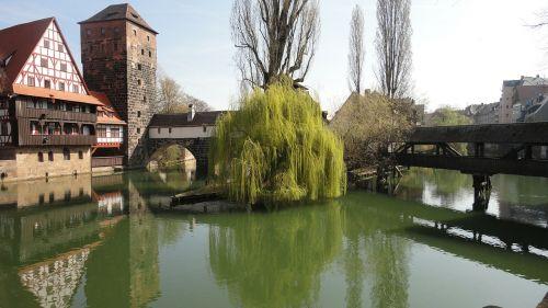 hangman's bridge nuremberg old town