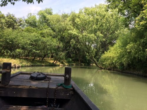 hangzhou west creek wetland park
