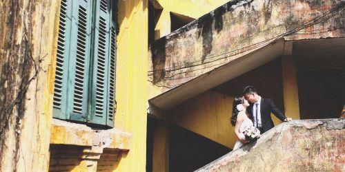 hanoi couple wedding