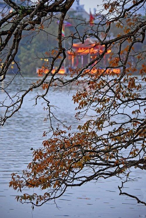 hanoi  vietnam  scenic sword lake