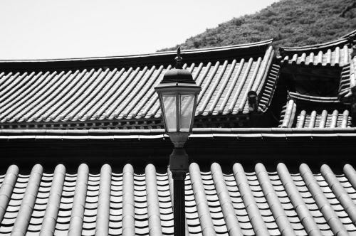 hanok light fixtures street lights