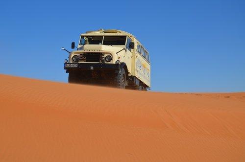hanomag  sand dune  truck