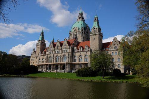 hanover hannover rathaus town hall