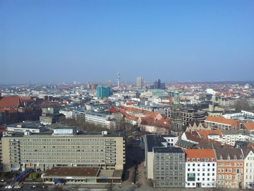 hanover view lower saxony