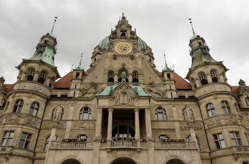 hanover  lower saxony  new town hall