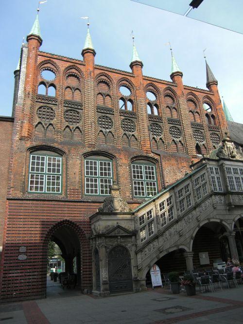 hanseatic city lübeck town hall