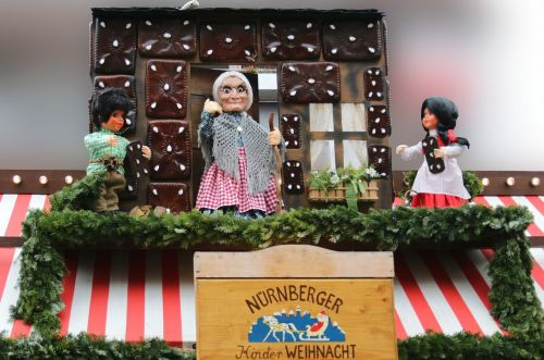 hansel and gretel dolls the witch