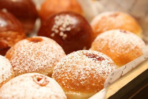 hanukkah donuts holiday