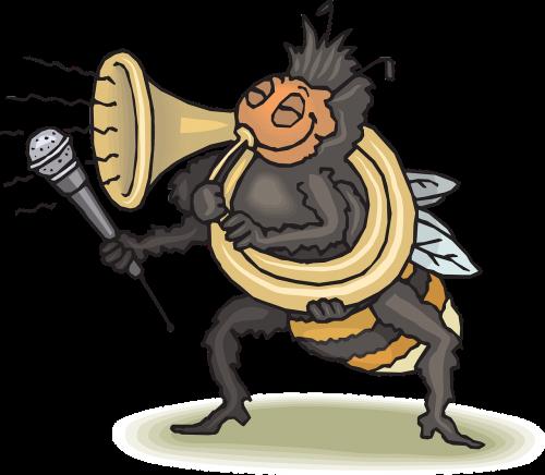 happy bee horn