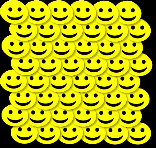 happy face 3d