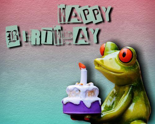 happy birthday birthday frog