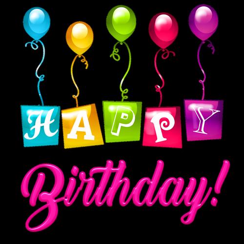 happy birthday balloons  plastic  happy birthday