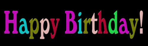 happy birthday text text birthday