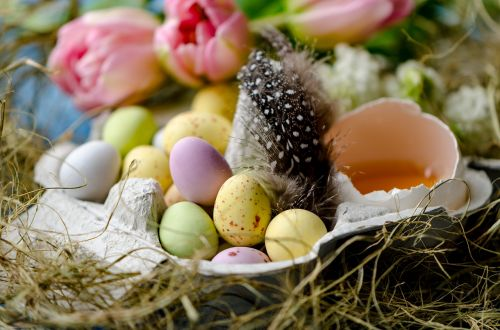 happy easter easter easter eggs