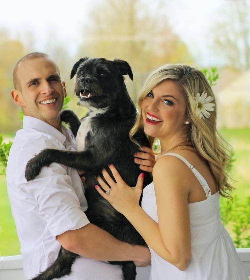 happy family dog family pup