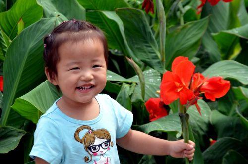 Happy Girl Posing