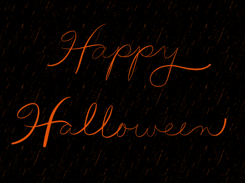 happy halloween halloween background black