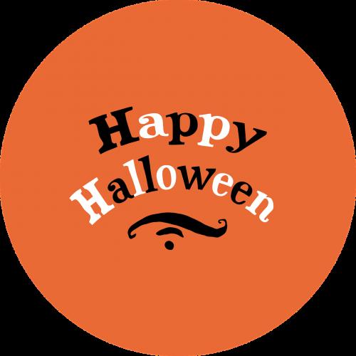 happy halloween 1-inch button
