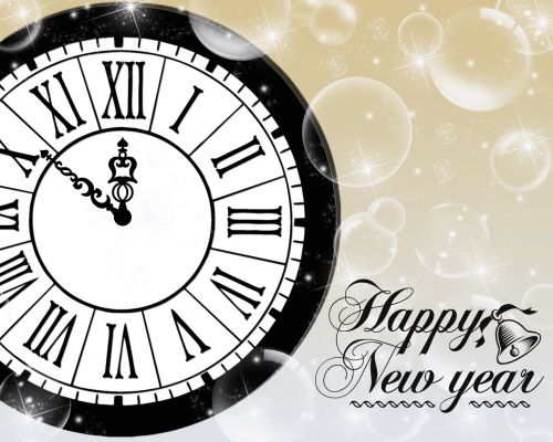 Free photos happy new year clock search, download - needpix.com