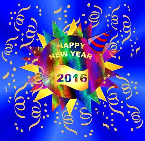 happy new year's celebration party