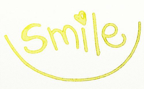 Happy Smile Text