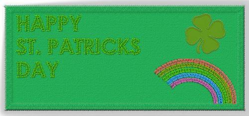 happy st patrick's day fabric patrick's day