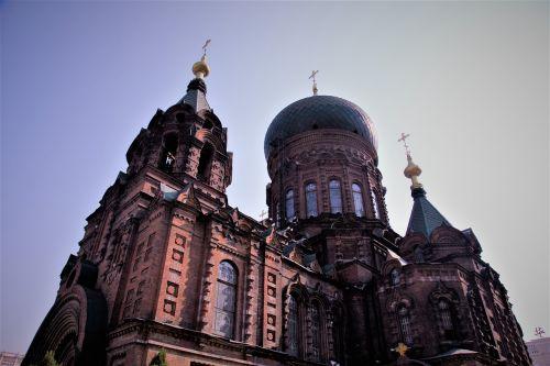 harbin saint sofia church old buildings