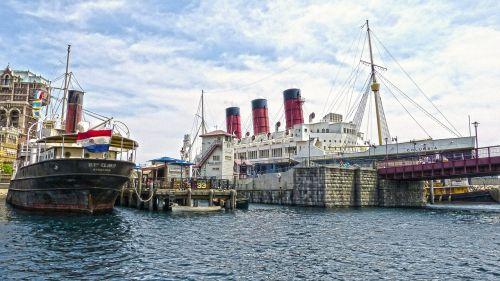 harbor ship water