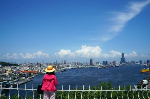 harbor kaohsiung harbor city view