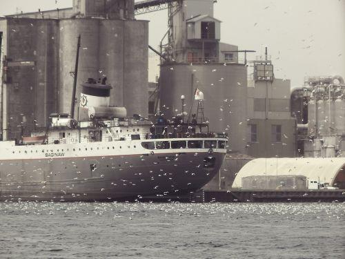 harbor cargo ship ship